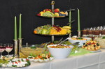 Obstetagere und Salate
